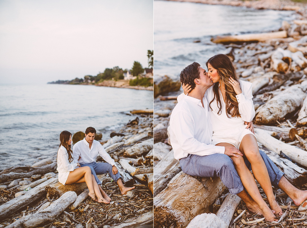 Beach Engagement Photos Cleveland Wedding Photographer 18.jpg