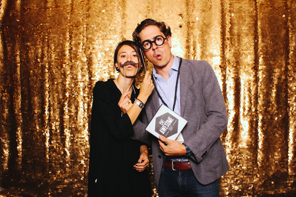 CEO for Cities photobooth at the open reception