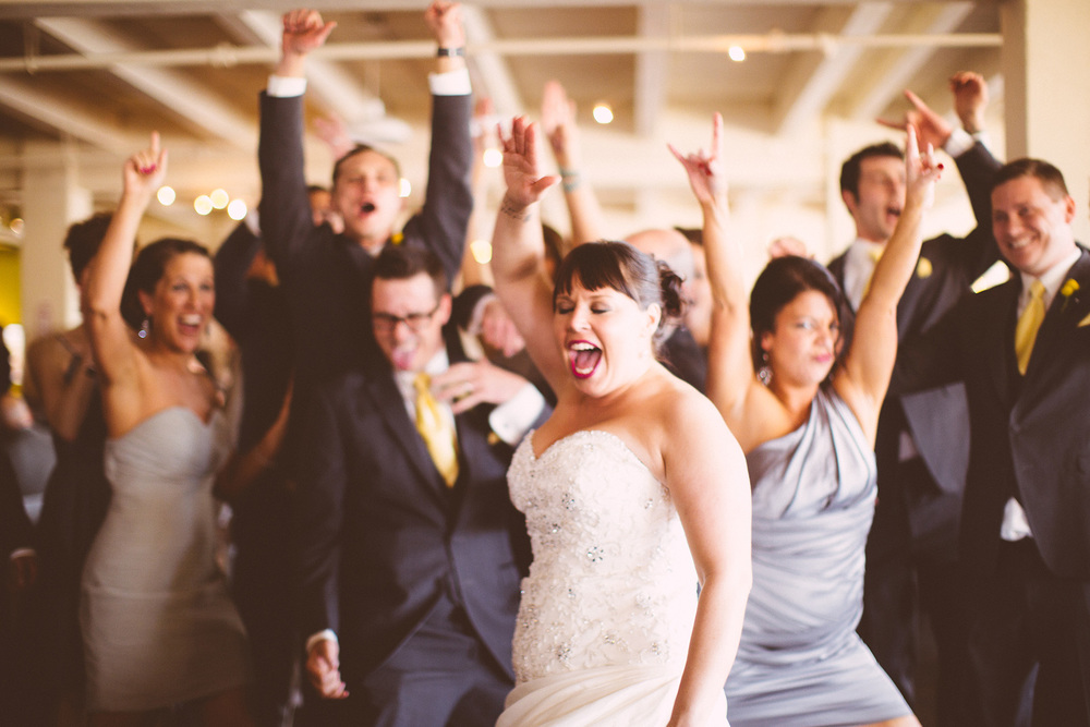 Molly + Nick a cleveland wedding at 78th street studios