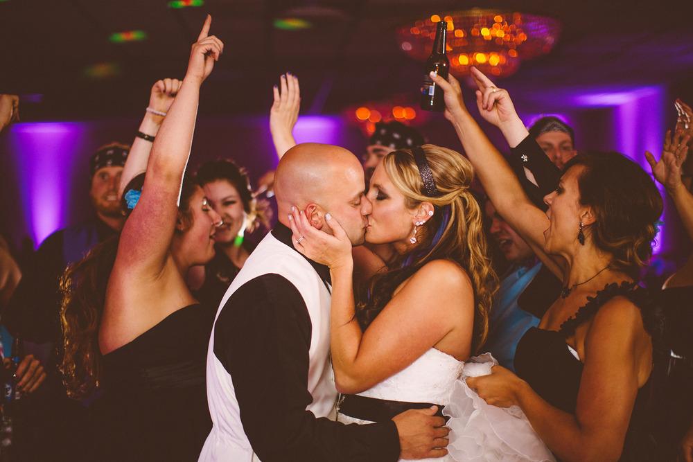 Jennie + Joe a lakewood wedding at brennans party center