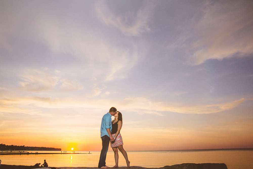 Cleveland Engagement Photographer at the Beach 11.jpg