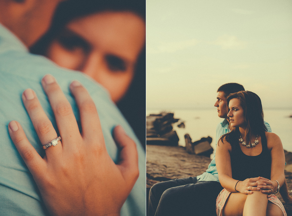 Cleveland Engagement Photographer at the Beach 16.jpg