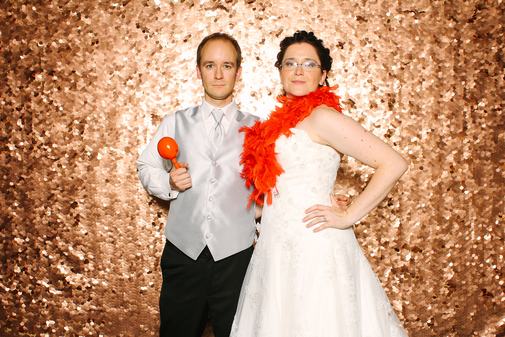 MaryJo + David photobooth at the screw factory in lakewood