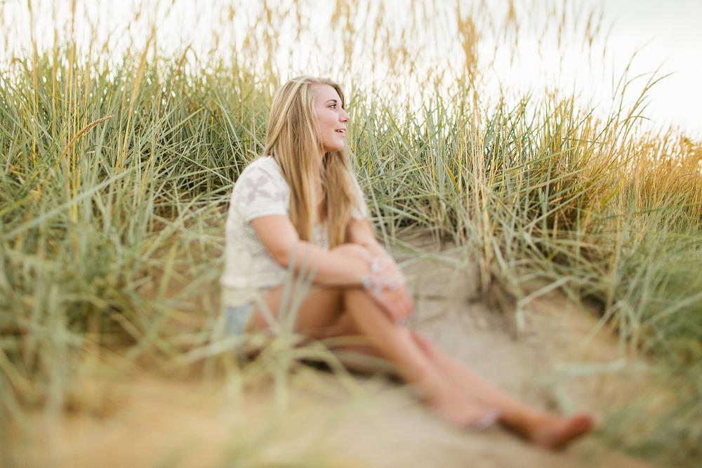 Kirsten Showe high school senior portraits in marblehead