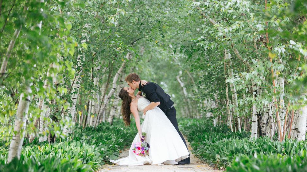 Bre + James a stan hywet wedding in akron