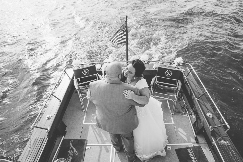 Krissy + Matt a lyman harbor wedding on the shores of lake erie