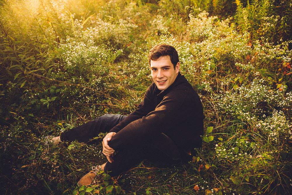 Chris Davis medina high school senior portraits