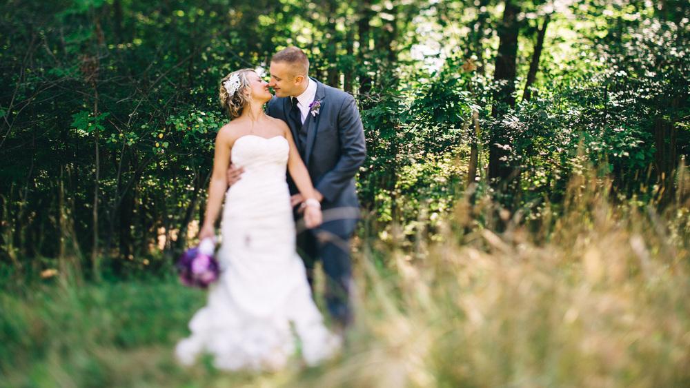 Rachael + Nick a cleveland wedding at the hilton garden