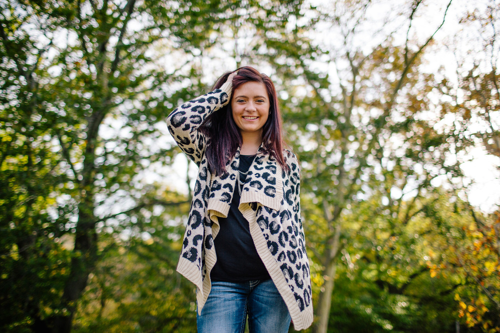 Rachel Stevenson a lake catholic high school senior portrait session