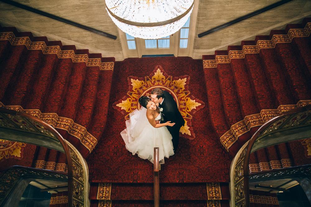 Yuliya + Eric a cleveland wedding at the renaissance hotel