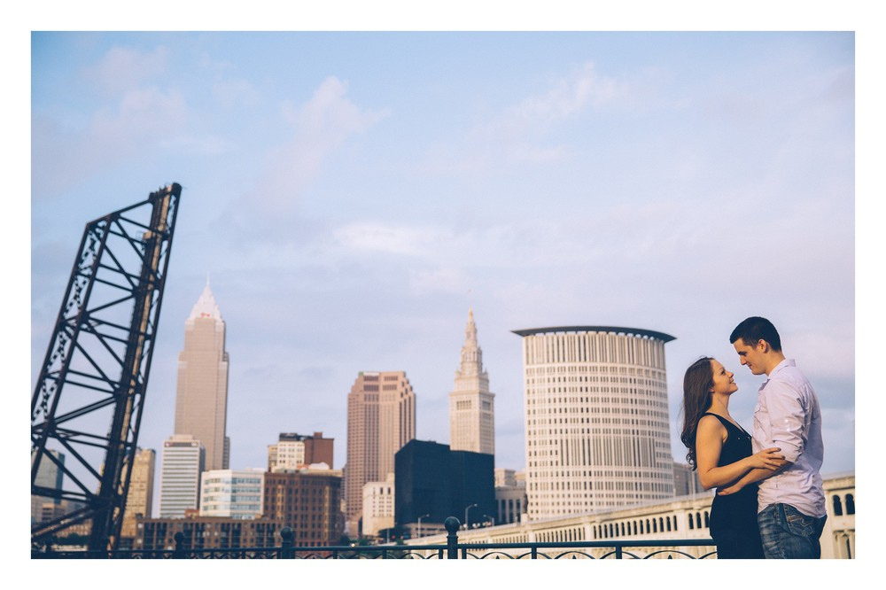 Cleveland Engagement Session in Ohio City-6.jpg