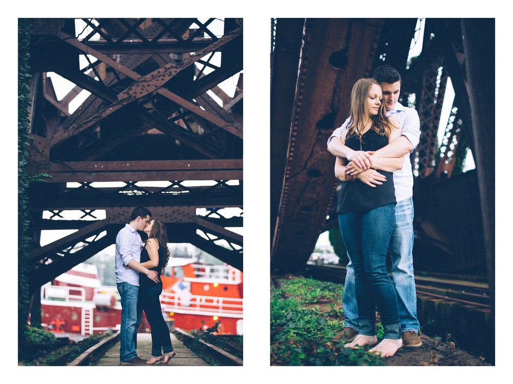 Cleveland Engagement Session in Ohio City-10.jpg