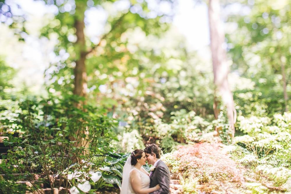 Alys + Brad a cleveland wedding at the botanical gardens
