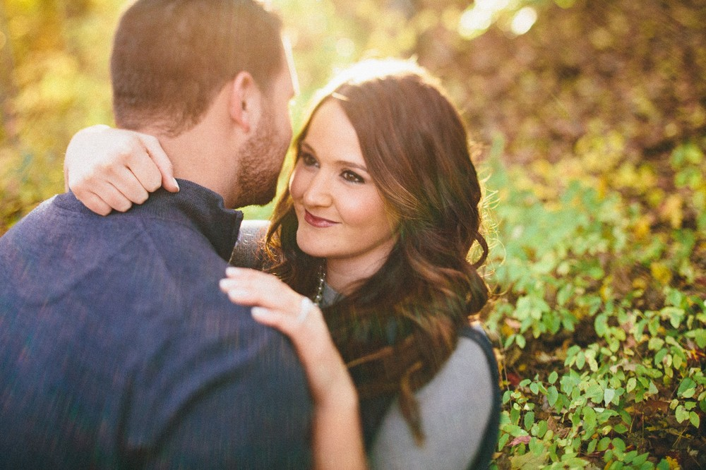 Taylor + Tom a kent fall engagement session