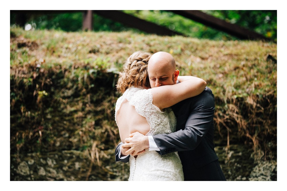 Intimate Cleveland Wedding Photographer Outside Wedding -2.jpg