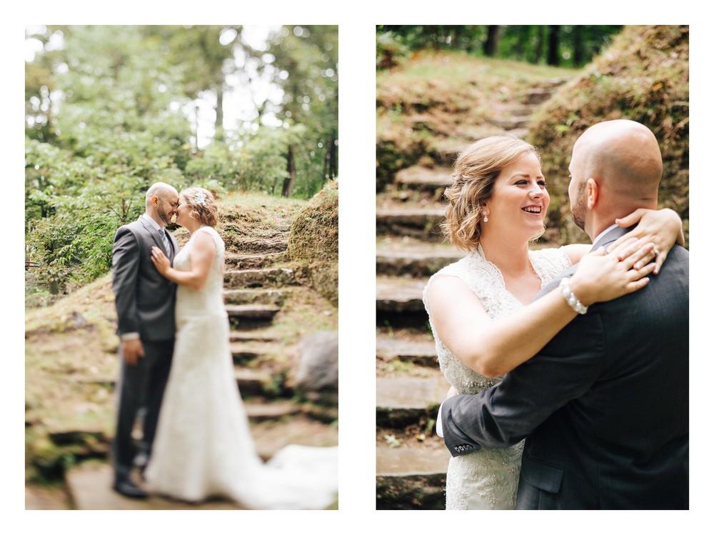 Intimate Cleveland Wedding Photographer Outside Wedding -3.jpg