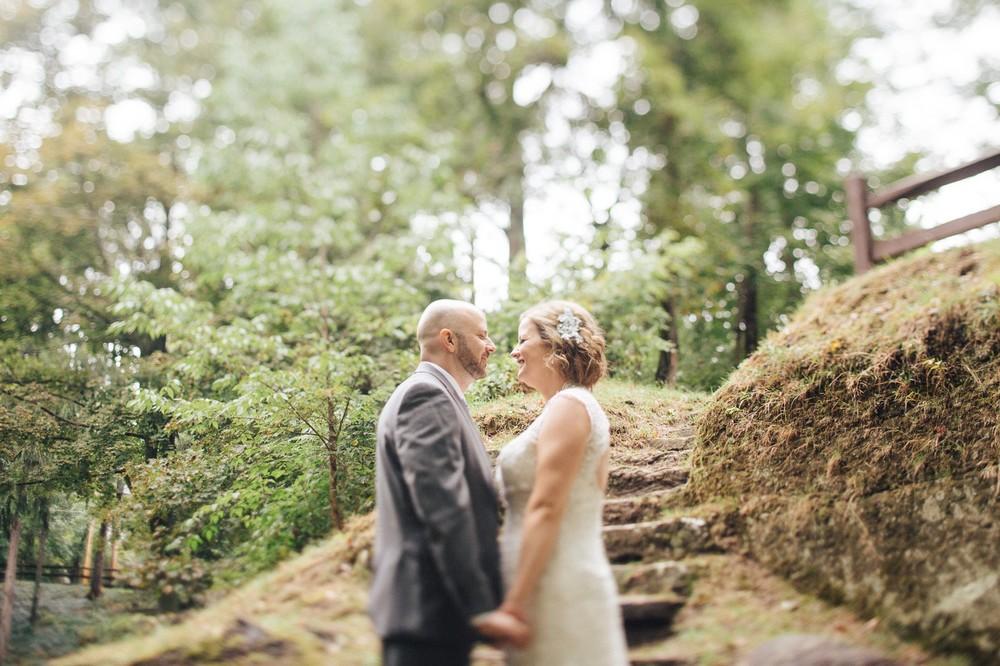 Intimate Cleveland Wedding Photographer Outside Wedding -4.jpg