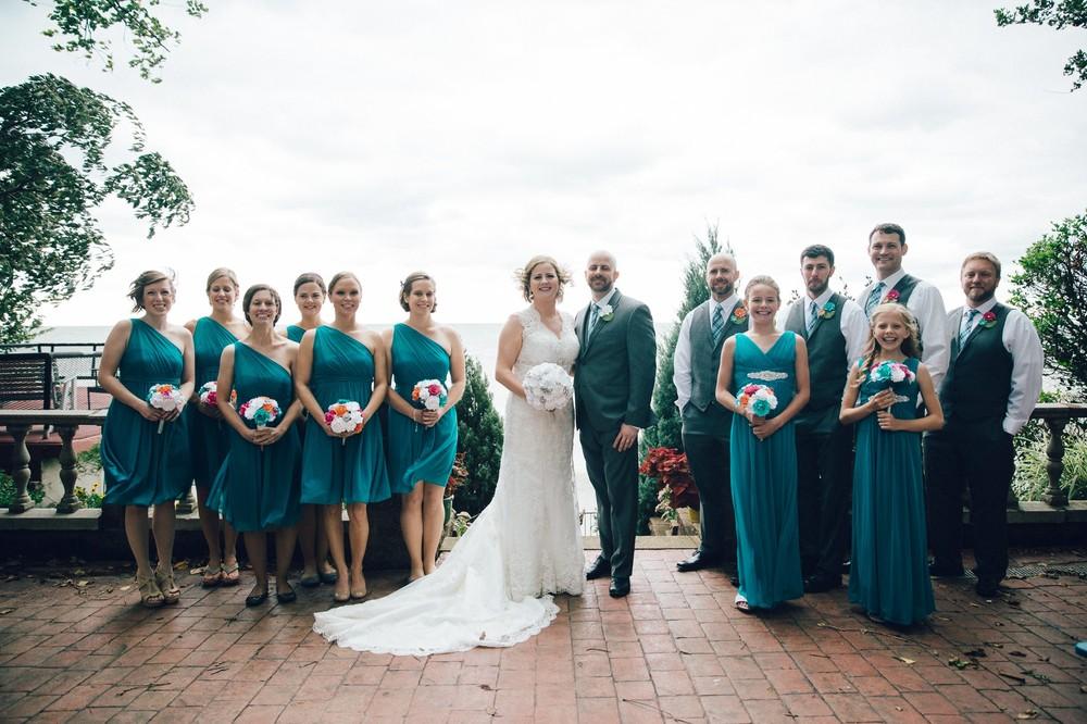 Intimate Cleveland Wedding Photographer Outside Wedding -20.jpg