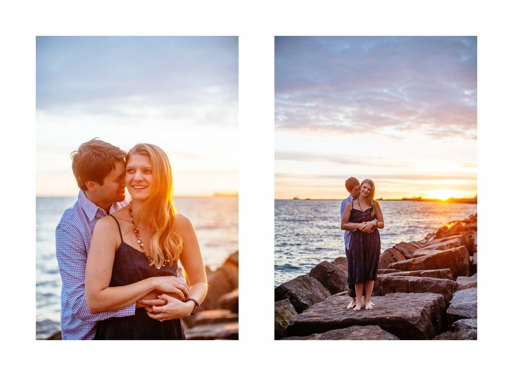 Cleveland Engagement Session at Edgewater Park  4.jpg