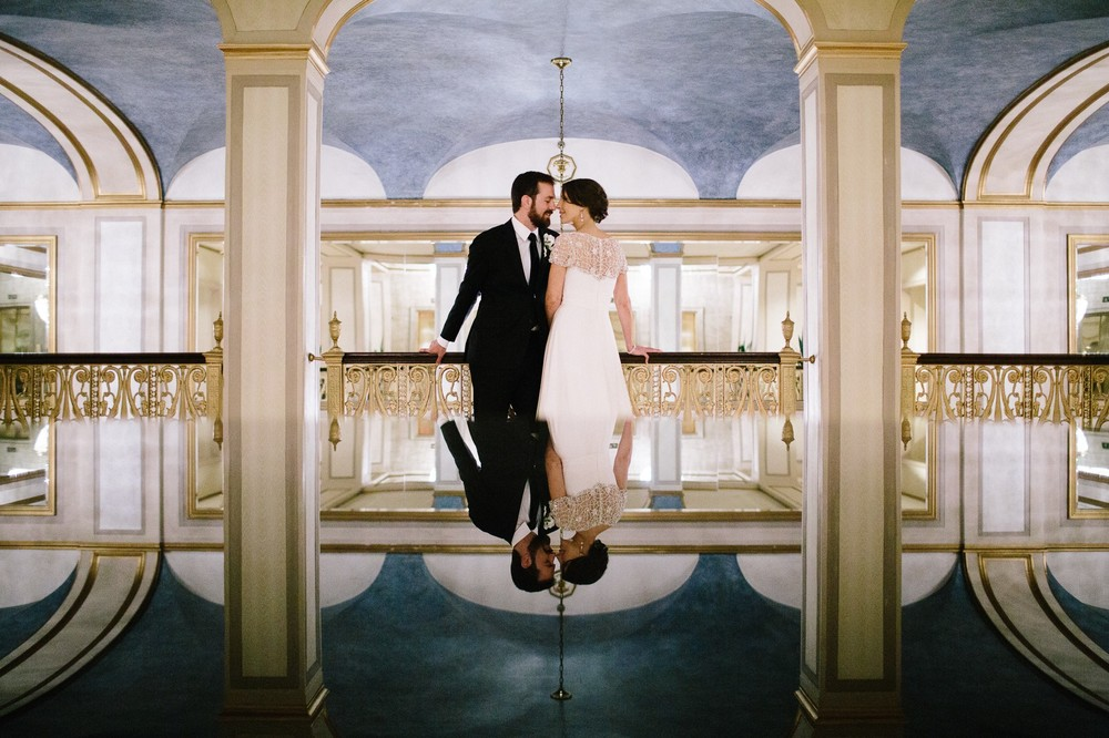 Cleveland Wedding Photographer at the City Hall Rotunda 1.jpg