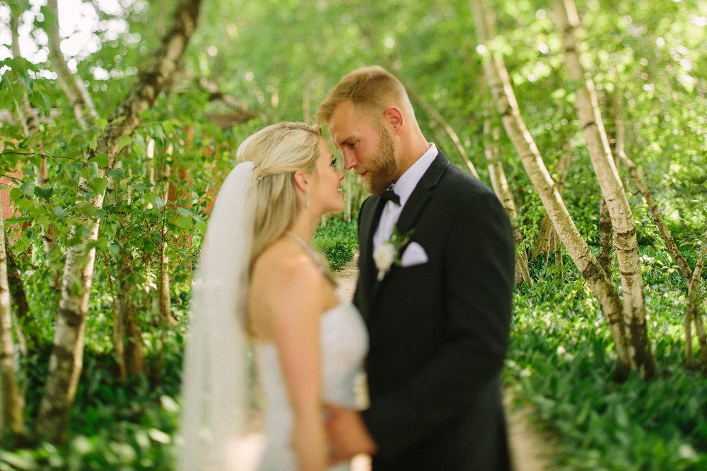 Ashley + Bill a stan hywet hall wedding in akron ohio