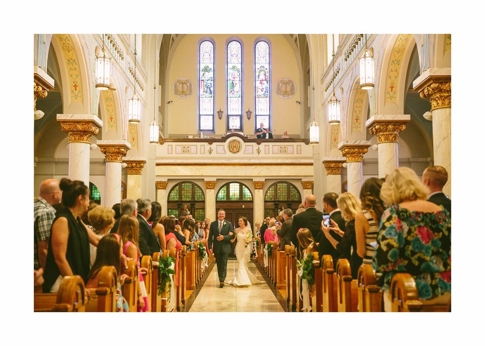 St John Cantius Wedding Photographer in Cleveland 11.jpg