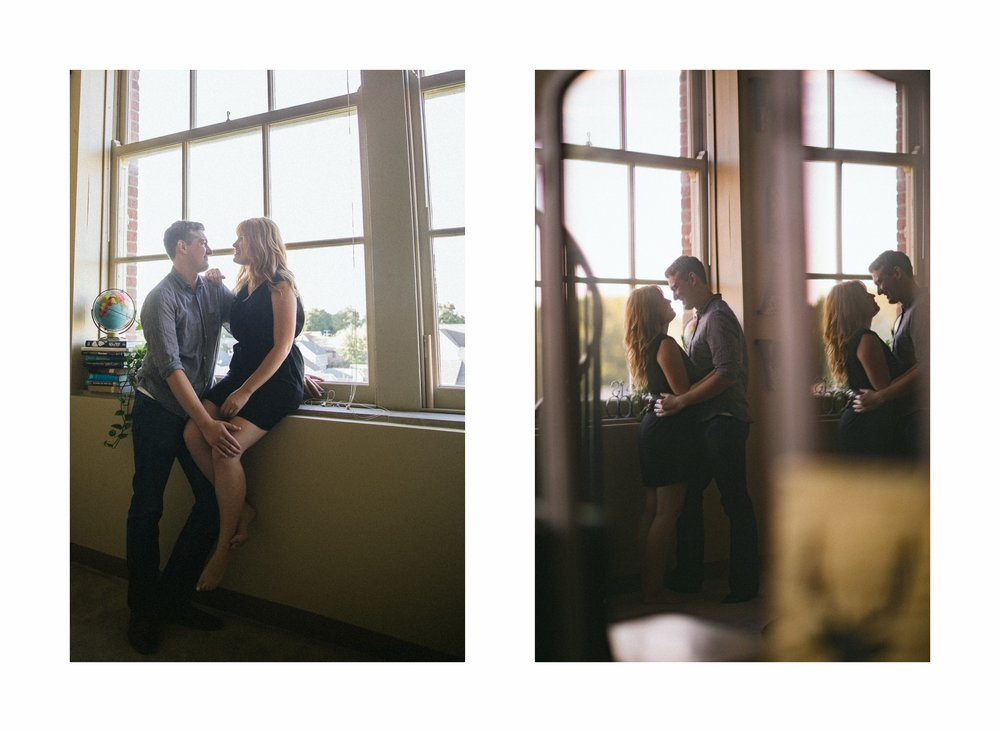 Cleveland Lifestyle at Home Engagement Session Photographer 7.jpg