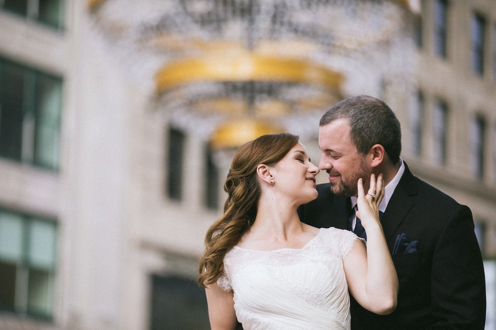 Cleveland Wedding Photographer at the Wyndham Hotel in Playhouse Square 1.jpg