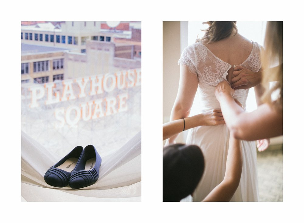 Cleveland Wedding Photographer at the Wyndham Hotel in Playhouse Square 6.jpg