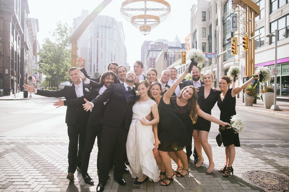 Cleveland Wedding Photographer at the Wyndham Hotel in Playhouse Square 18.jpg