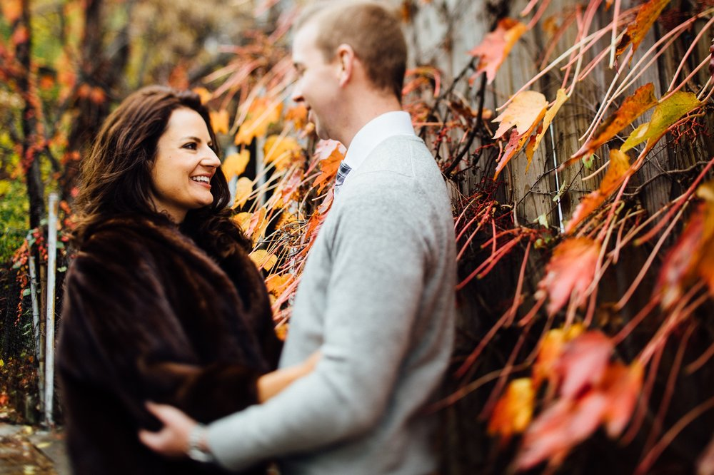 Fall Engagement in Little Italy Cleveland Wedding Photographer 1.jpg