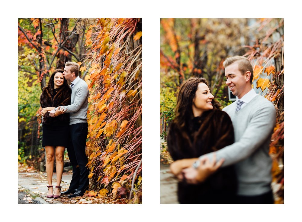 Fall Engagement in Little Italy Cleveland Wedding Photographer 2.jpg