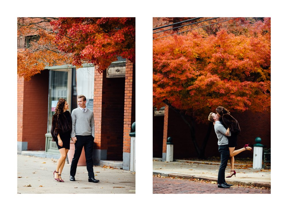Fall Engagement in Little Italy Cleveland Wedding Photographer 14.jpg