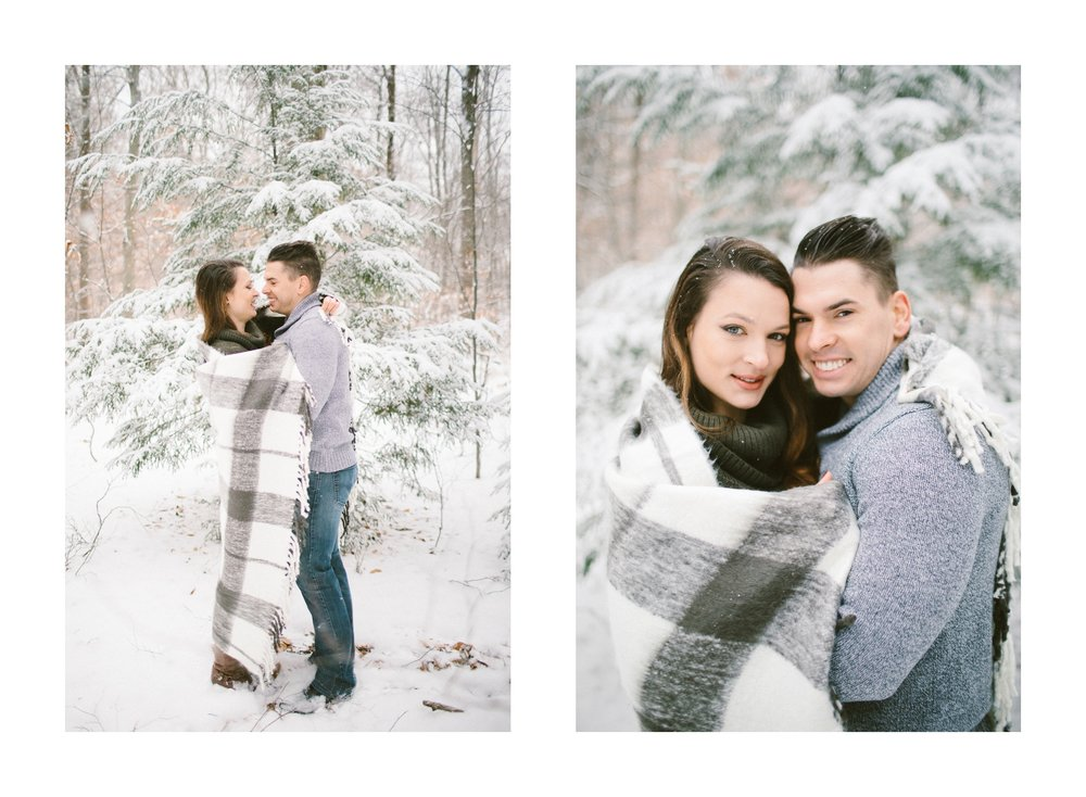 Cleveland Snowy Winter Engagement Session in Chagrin Metroparks 23.jpg