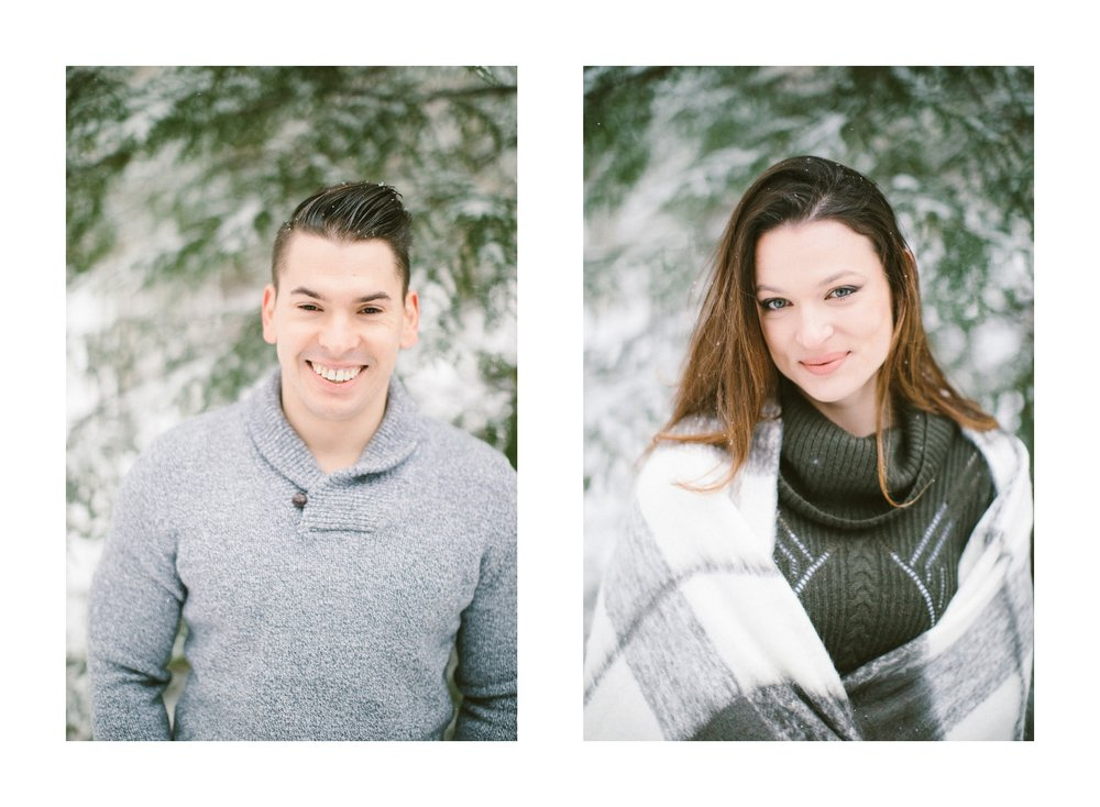 Cleveland Snowy Winter Engagement Session in Chagrin Metroparks 26.jpg