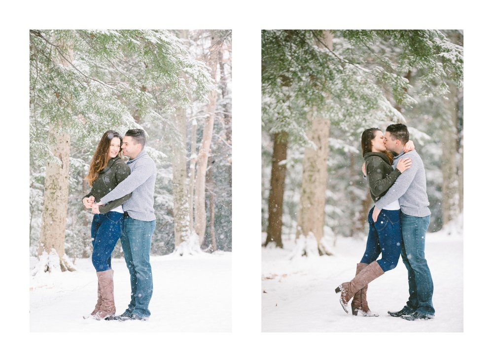 Cleveland Snowy Winter Engagement Session in Chagrin Metroparks 29.jpg