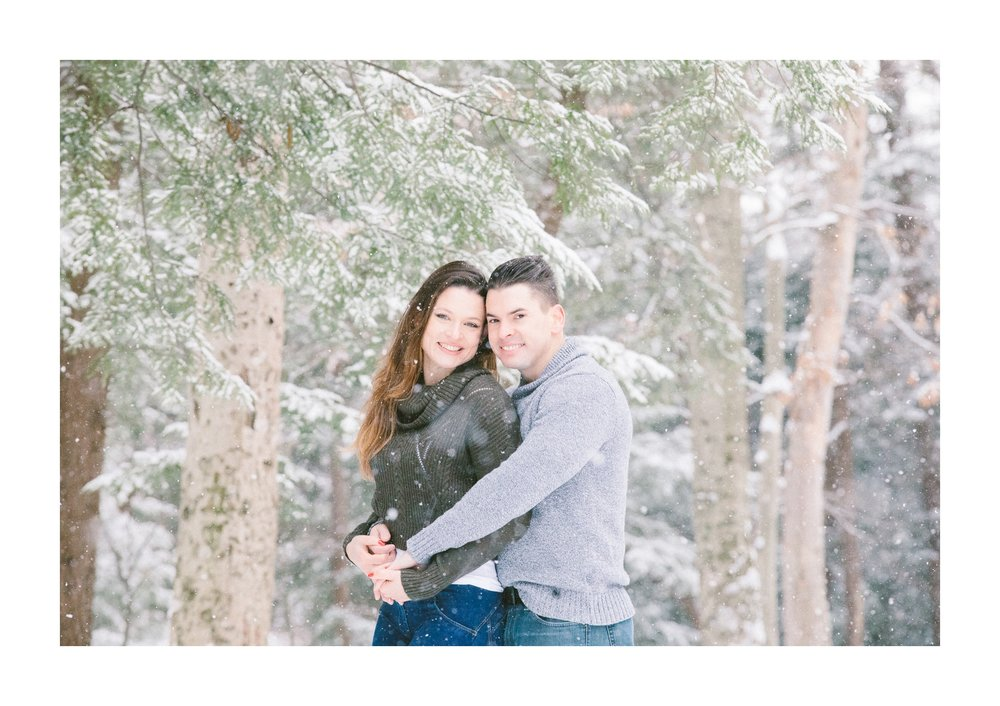 Cleveland Snowy Winter Engagement Session in Chagrin Metroparks 31.jpg