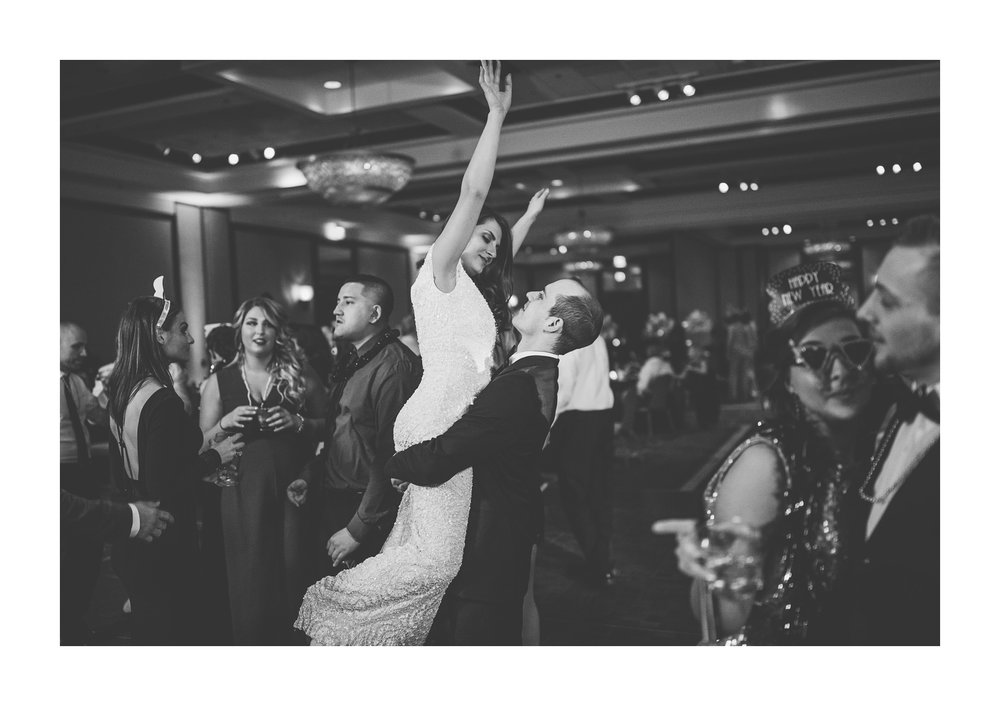 Cleveland New Years Eve Wedding Photographer at Key Center 72.jpg