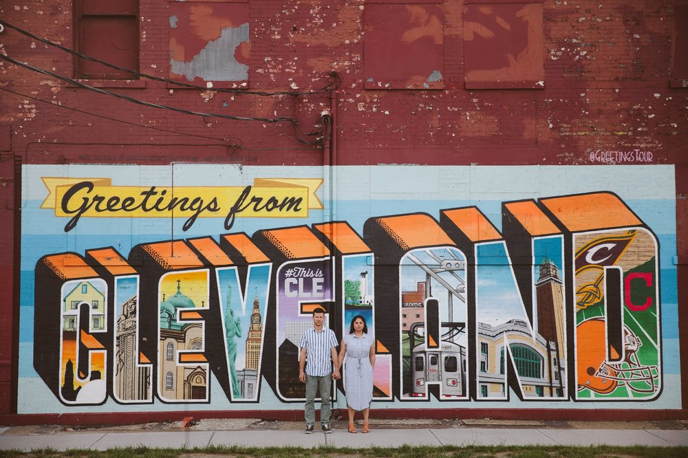 Cleveland Engagement Photos in Ohio City Public Art 1.jpg