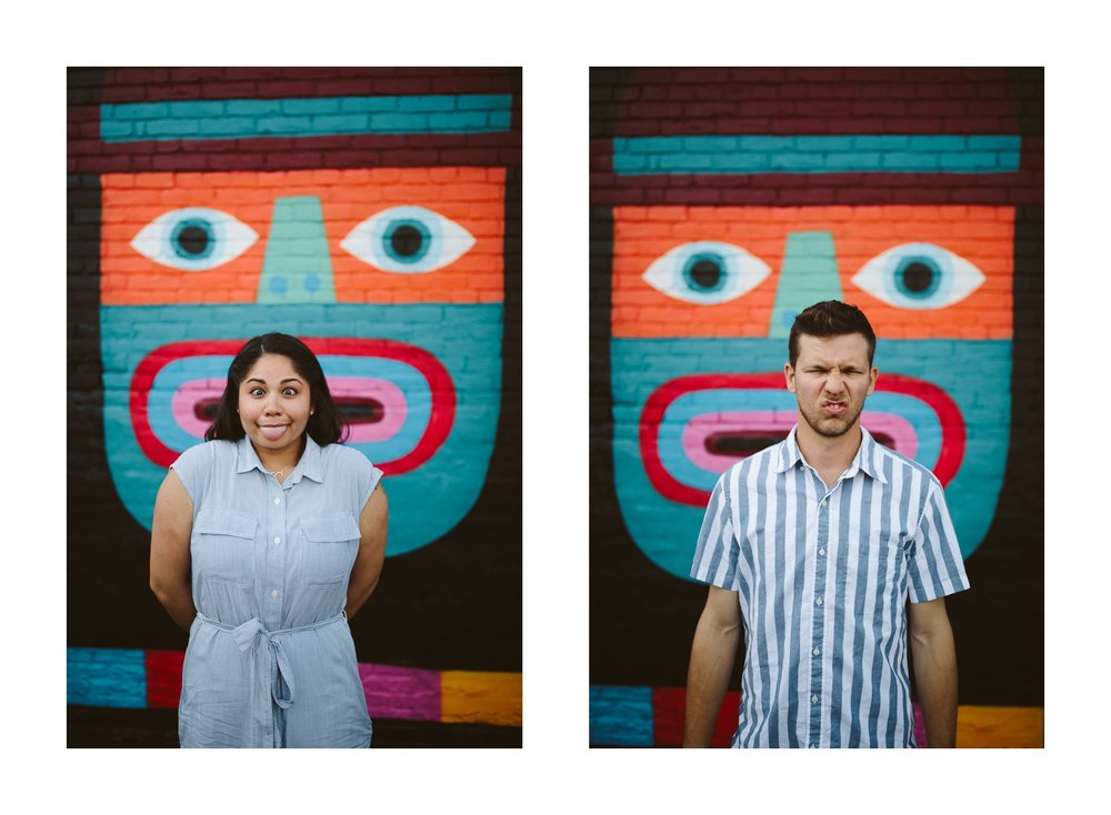 Cleveland Engagement Photos in Ohio City Public Art 9.jpg