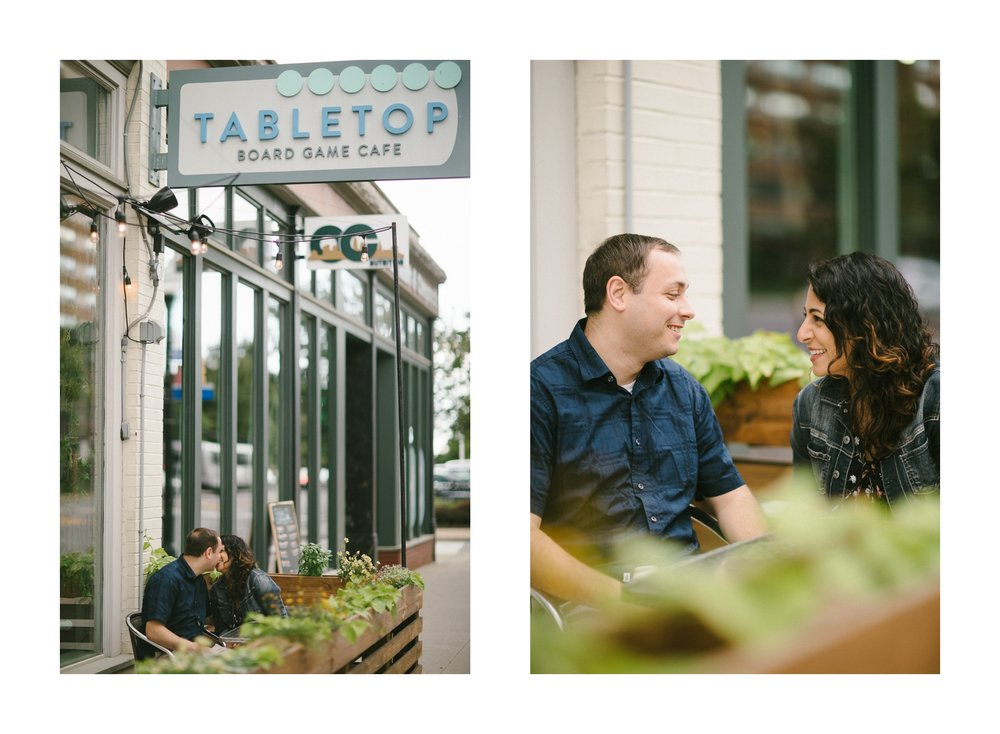 Cleveland Tabletop Board Game Cafe Engagement Photos in Ohio City 7.jpg
