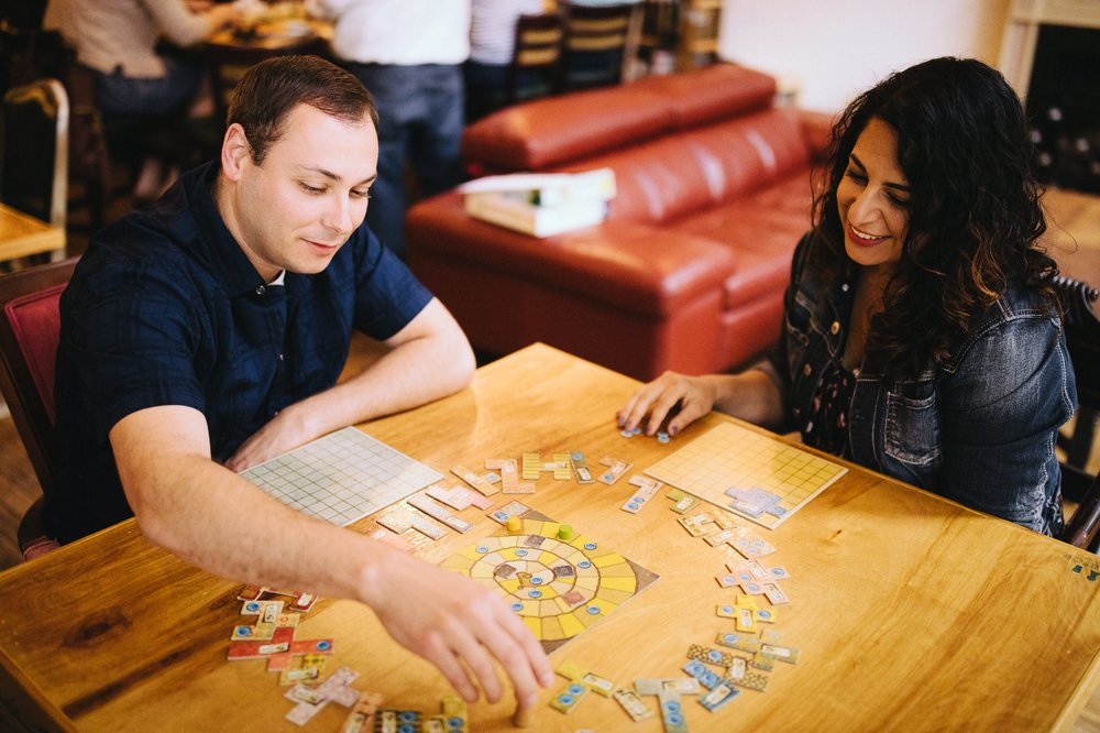 Cleveland Tabletop Board Game Cafe Engagement Photos in Ohio City 10.jpg