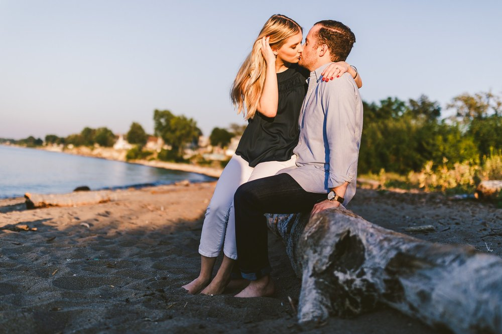 Lake Erie Engagement Shoot by the Beach 11.jpg