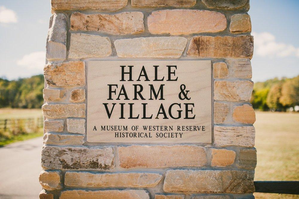 Hale Farm and Village Wedding Photographer 00005 .JPG
