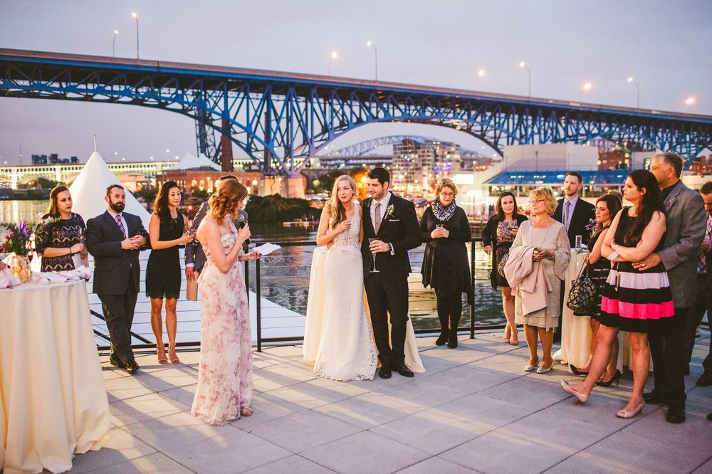 Aloft Hotel Alley Cat Oyster Bar Wedding in Cleveland 70.jpg
