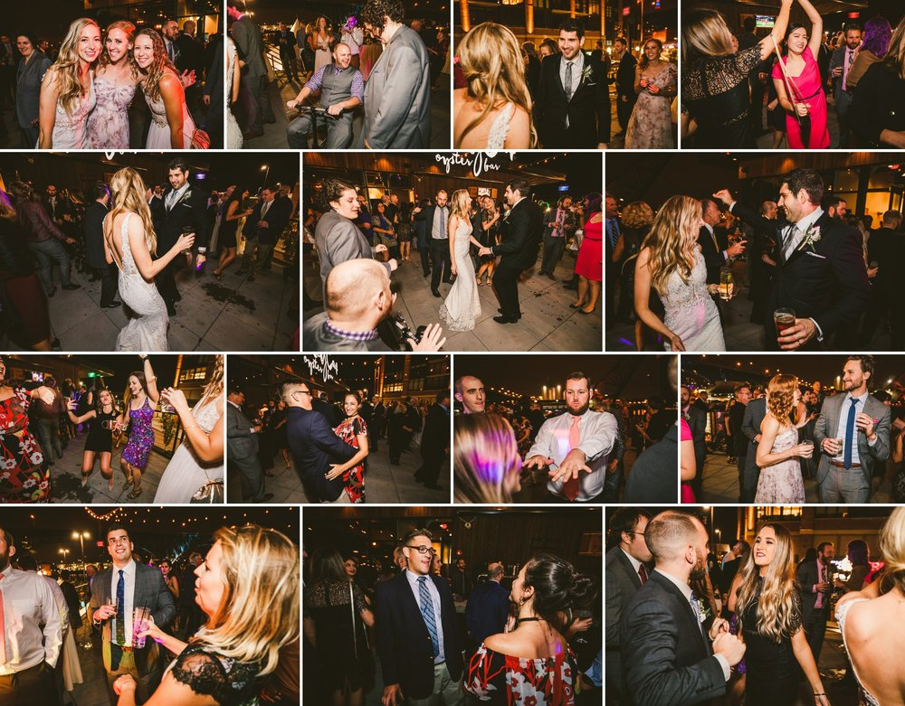 Aloft Hotel Alley Cat Oyster Bar Wedding in Cleveland 78.jpg