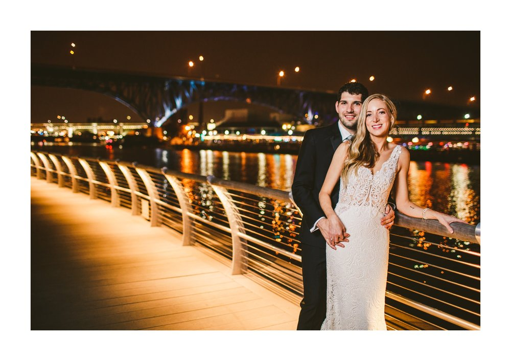 Aloft Hotel Alley Cat Oyster Bar Wedding in Cleveland 81.jpg