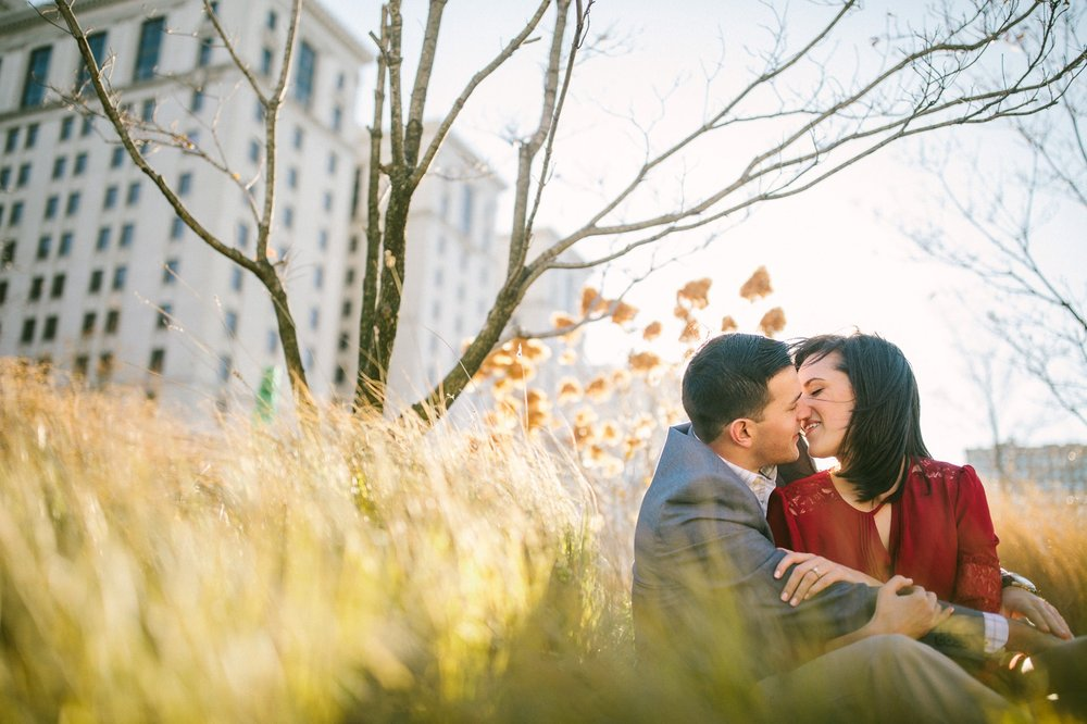 Downtown Cleveland Engagement Session East 4th 8.jpg