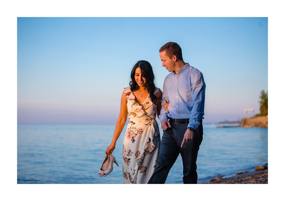 Cleveland Edgewater Beach Engagement Session 16.jpg
