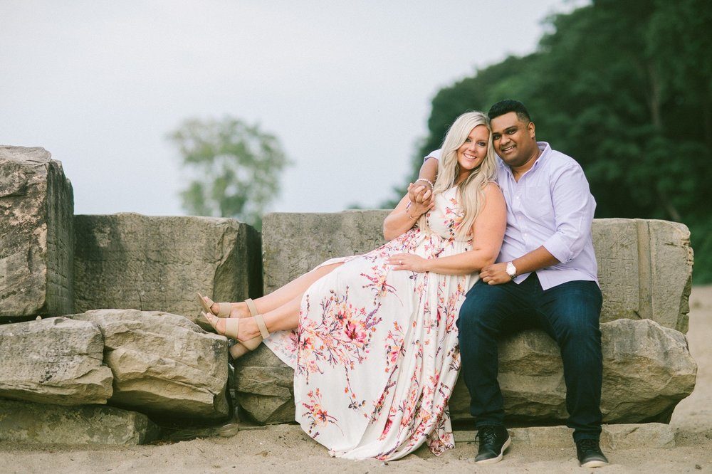 Edgewater Beach Engagement Session in Cleveland 3.jpg